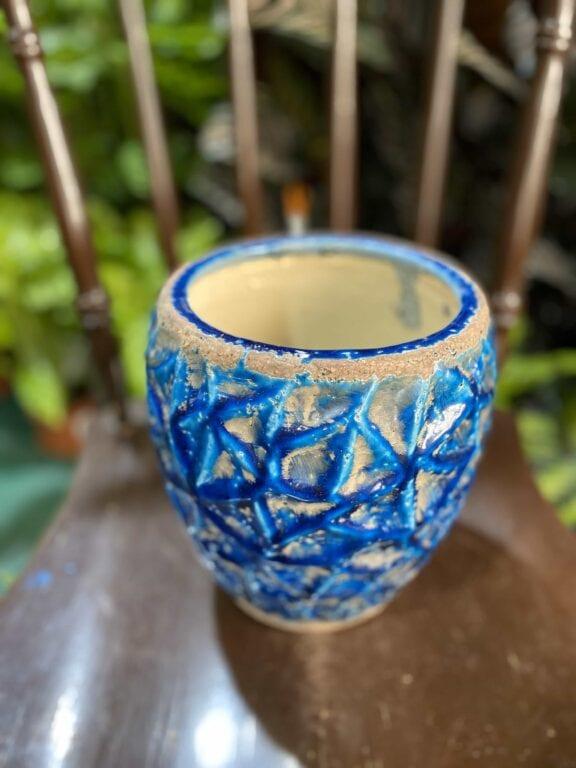 Zdjęcie Osłonka Lapis-Lazuli 14x17 cm w kategorii doniczki, ujęcie 2