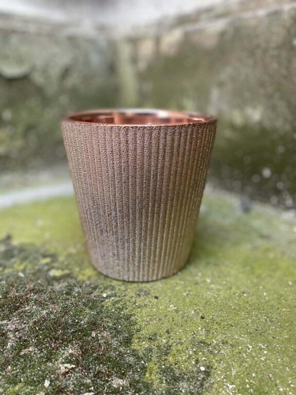 Zdjęcie doniczki lub oslonki: Oslonka Himalayan Salt 12x13 cm, ujęcie 1