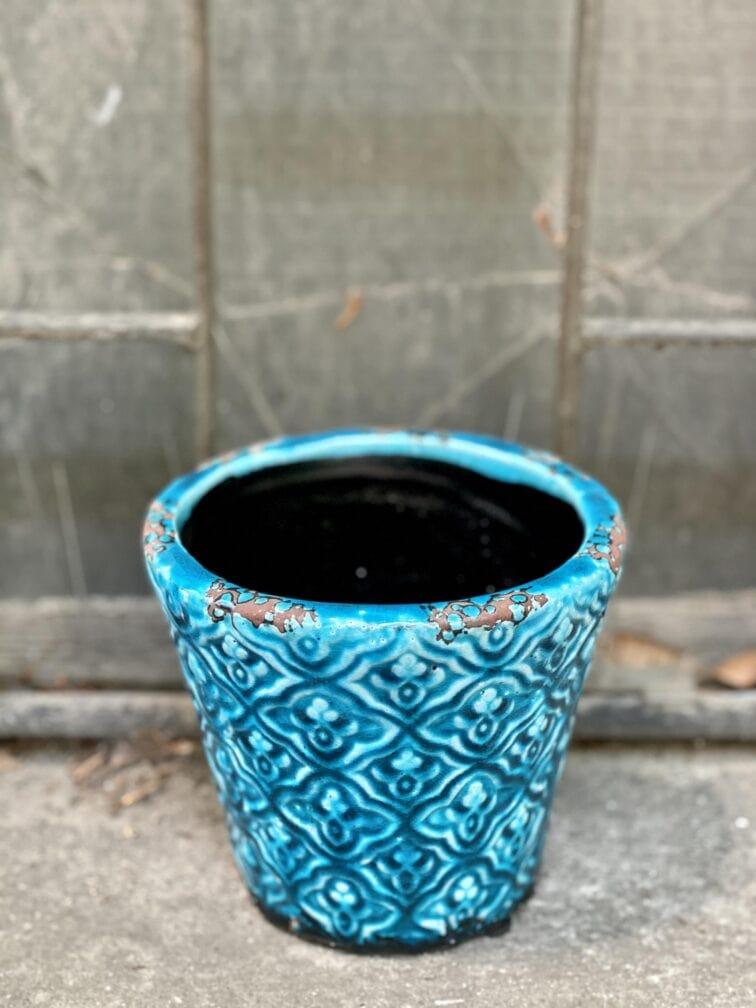 Zdjęcie Osłonka Modra 12x13 cm w kategorii doniczki, ujęcie 3