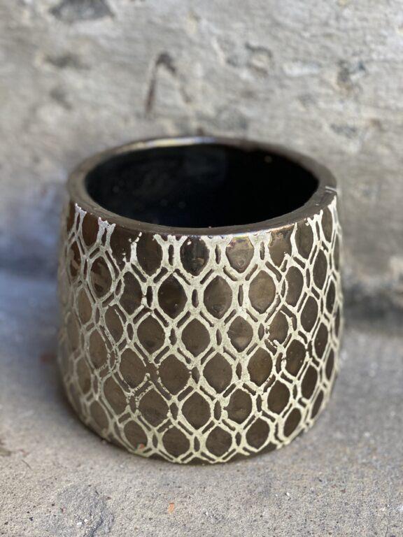 Zdjęcie doniczki lub oslonki: Osłonka Monasterio 11x12 cm, ujęcie 1