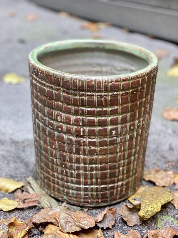 Zdjęcie doniczki lub oslonki: Osłonka Velka Brown 17x22 cm, ujęcie 1