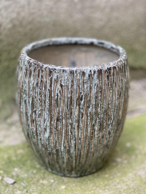 Zdjęcie doniczki lub oslonki: Osłonka Cinder Grey 16x22 cm, ujęcie 1