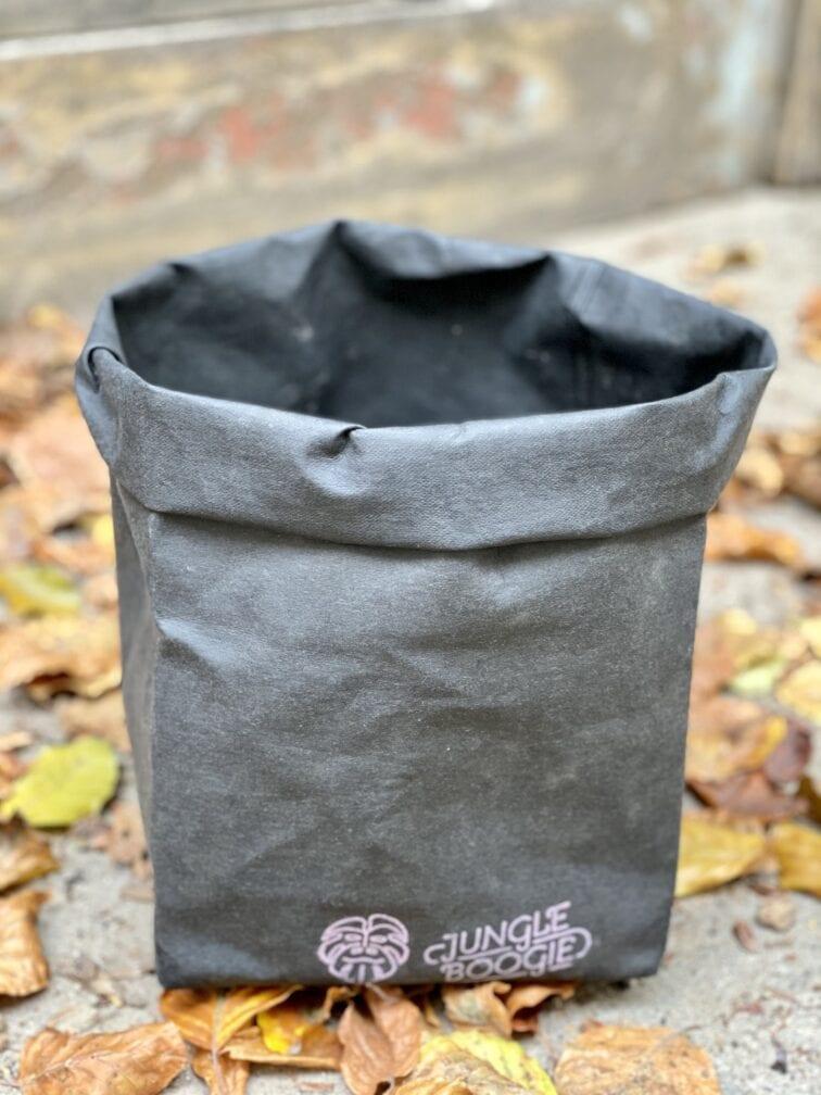Zdjęcie doniczki lub oslonki: Osłona Washpapa Czarna 28x29 cm, ujęcie 1