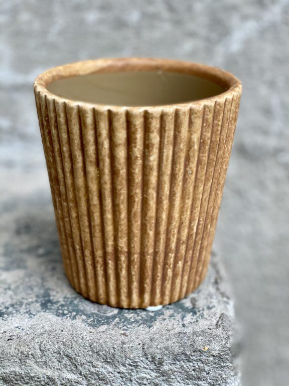 Zdjęcie doniczki lub oslonki: Osłonka Mała Mufinka 8x10 cm, ujęcie 1