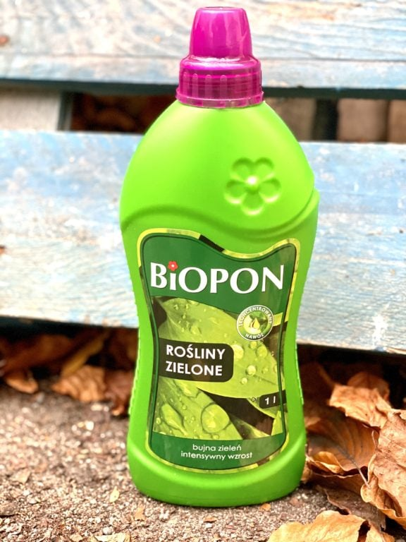 Zdjęcie akcesoria Nawóz do zielonych Biopon 1L, ujęcie 1