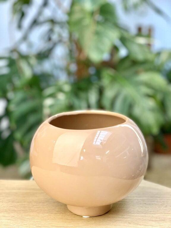 Zdjęcie doniczki lub oslonki: Osłonka Latte 10x12 cm, ujęcie 1