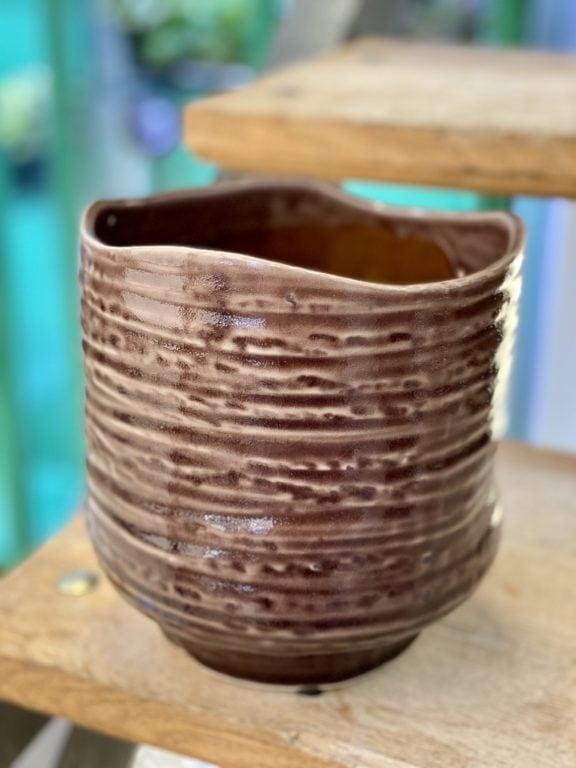 Zdjęcie doniczki lub oslonki: Osłonka Wizna Purple 16x18 cm, ujęcie 1