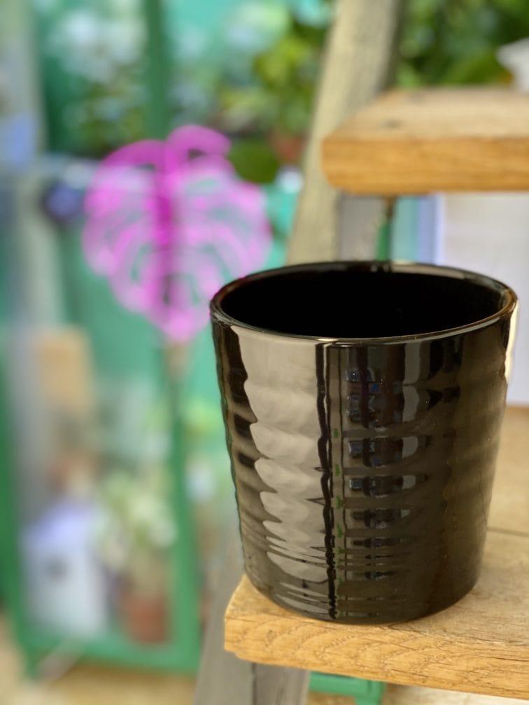 Zdjęcie doniczki lub oslonki: Osłonka Black Mirror 12x13 cm, ujęcie 3