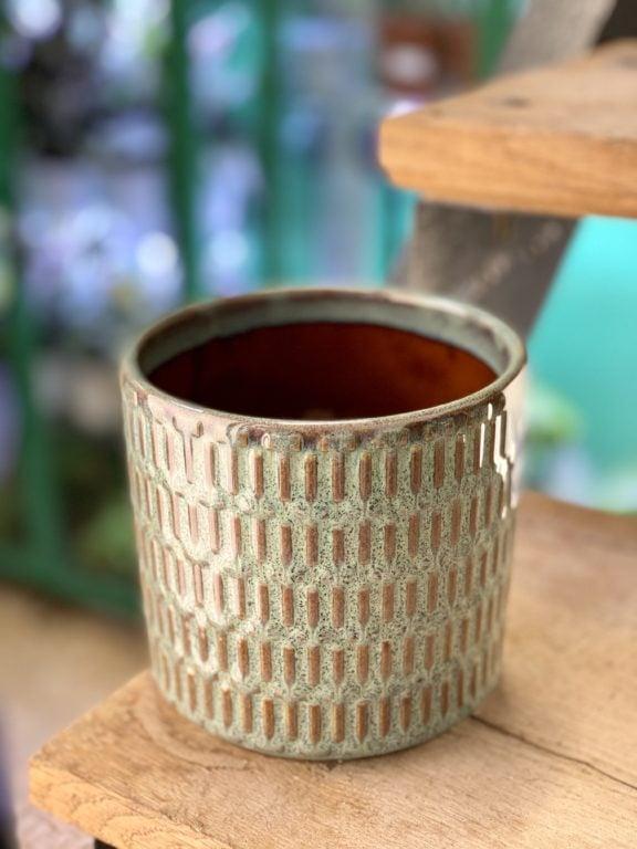Zdjęcie doniczki lub oslonki: Osłonka Yorshka 12x13 cm, ujęcie 1
