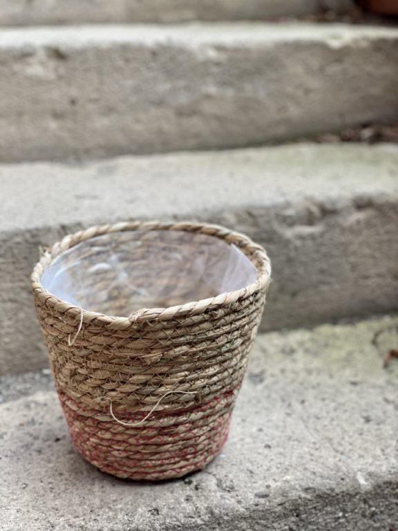 Zdjęcie doniczki lub oslonki: Osłonka Basket 18x18cm, ujęcie 1
