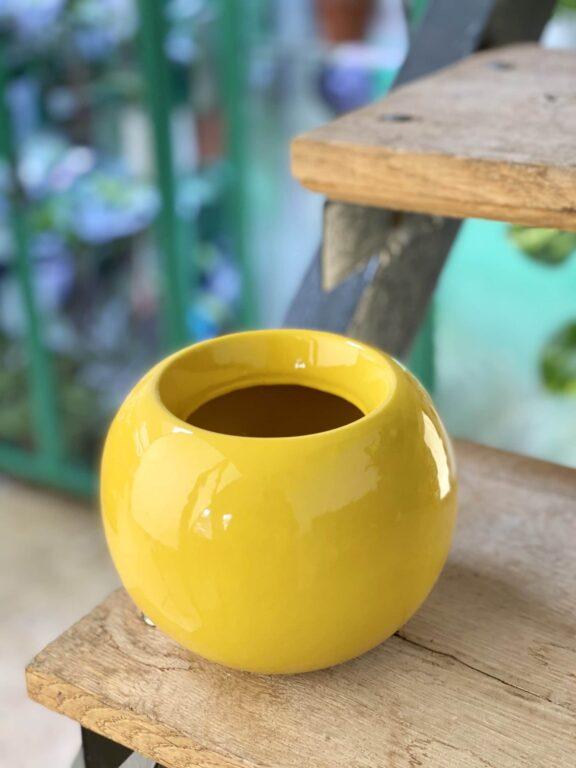 Zdjęcie doniczki lub oslonki: Osłonka Bowl 9x12cm, ujęcie 1