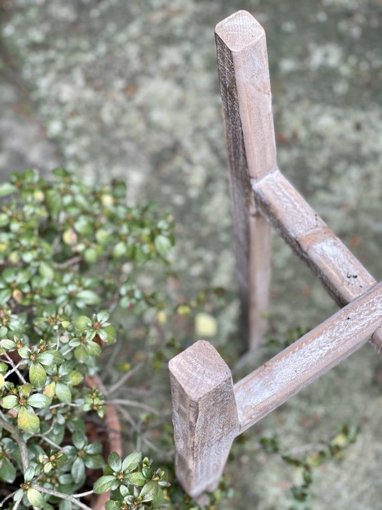 Zdjęcie doniczki lub oslonki: Kwietnik drewniany 0x70cm, ujęcie 2