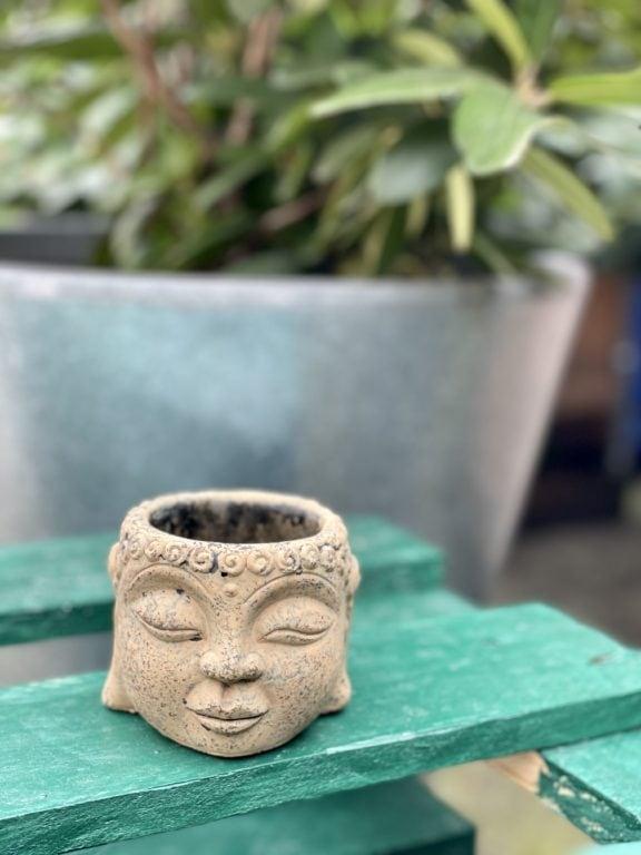 Zdjęcie doniczki lub oslonki: Osłonka Buddha 6x7cm, ujęcie 1