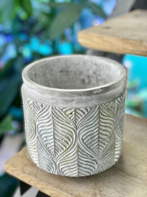 Zdjęcie doniczki lub oslonki: Osłonka Drzewko oliwne 14x15cm, ujęcie 1