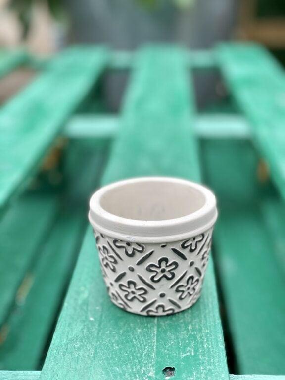 Zdjęcie doniczki lub oslonki: Osłonka Herb 6x6cm, ujęcie 1