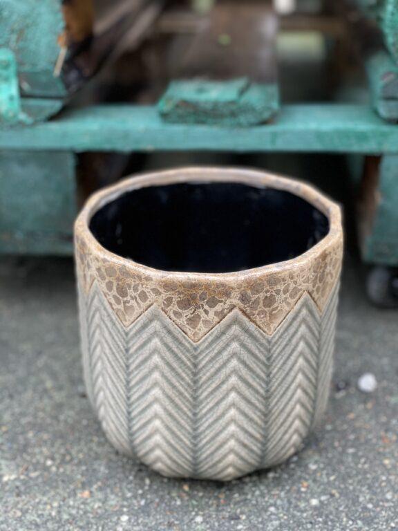 Zdjęcie doniczki lub oslonki: Osłonka Cedr 16x17cm, ujęcie 1