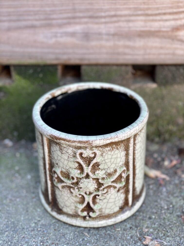 Zdjęcie doniczki lub oslonki: Osłonka Church 11x12cm, ujęcie 3