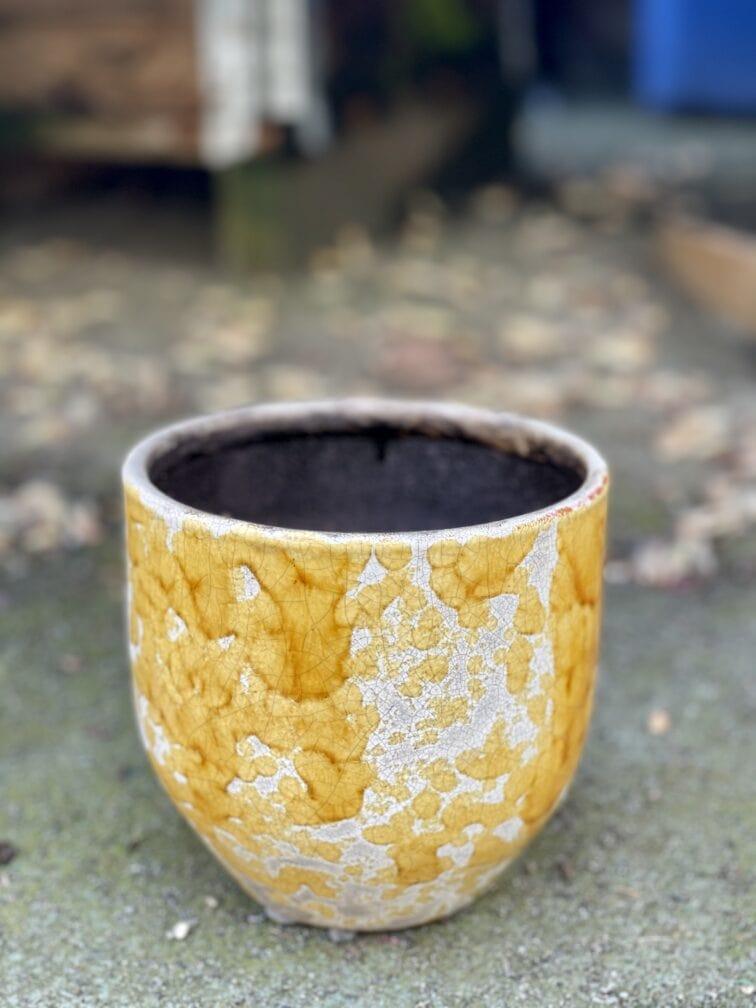 Zdjęcie doniczki lub oslonki: Oslonka-honey 12x13cm, ujęcie 1
