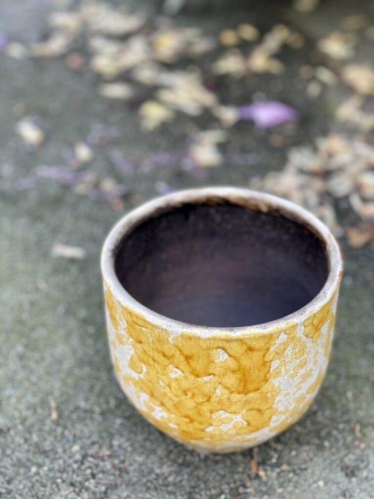 Zdjęcie doniczki lub oslonki: Oslonka-honey 12x13cm, ujęcie 3