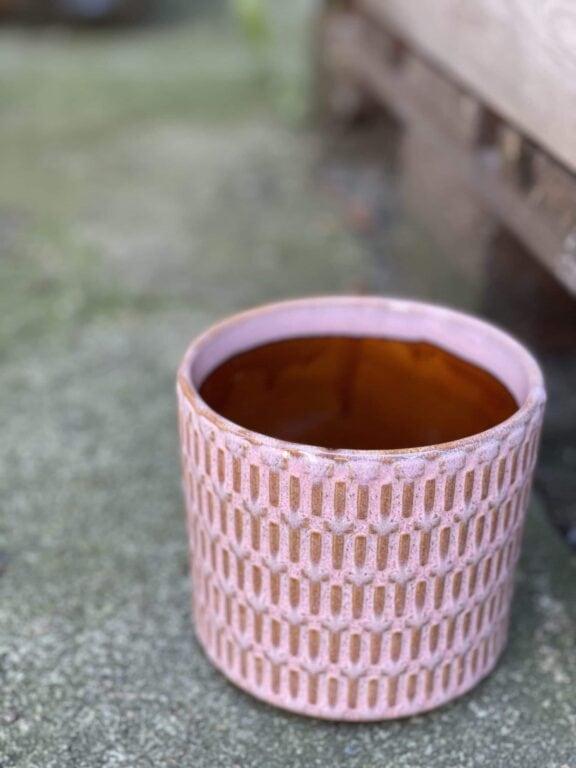 Zdjęcie doniczki lub oslonki: Osłonka yorshka pink 11x11cm, ujęcie 1