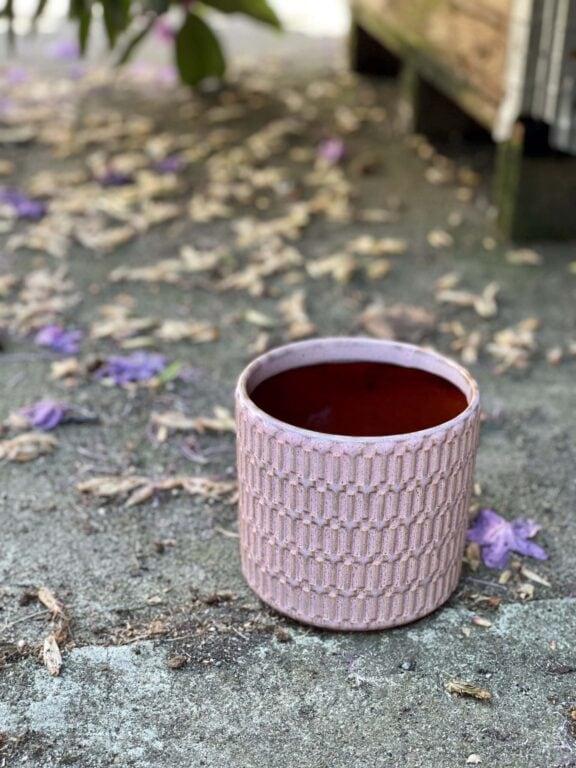 Zdjęcie doniczki lub oslonki: Osłonka yorshka pink 12x13cm, ujęcie 1