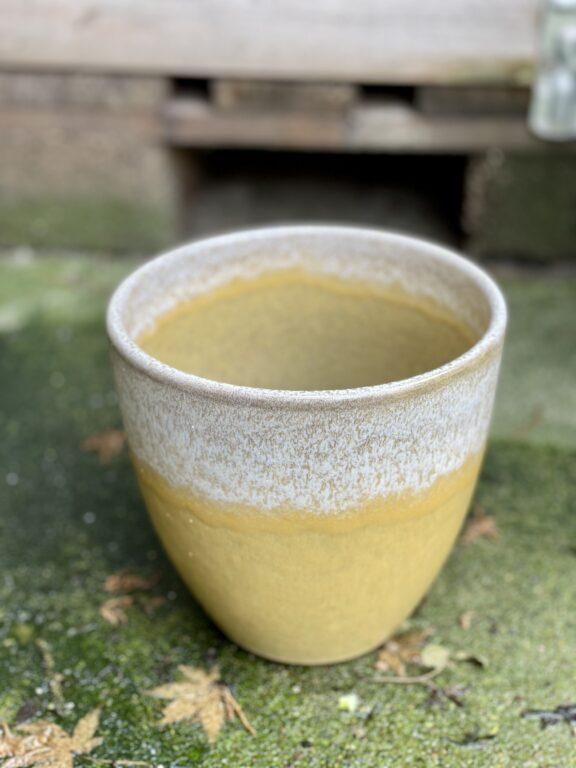 Zdjęcie doniczki lub oslonki: Osłonka Yellow Dust 15x16cm, ujęcie 1
