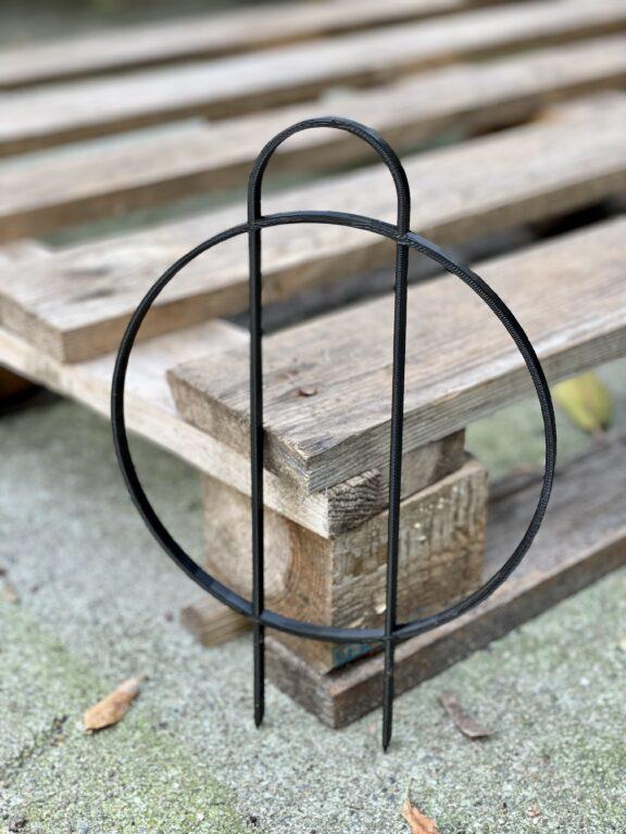 Zdjęcie akcesoria Drabinka Bamboo Ring Black 26 cm, ujęcie 1